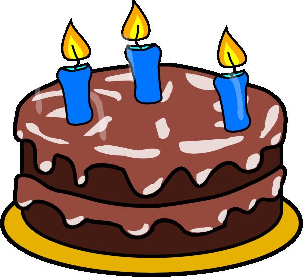 Birthday Cake Age  Clip Art At Clkercom Vector Clip Art Online - 3 birthday cake