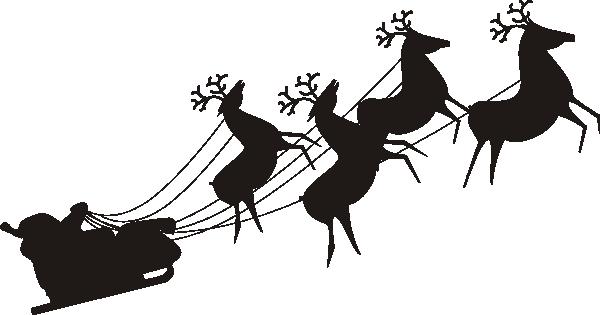 Santa clip artBlack Santa Claus Clipart