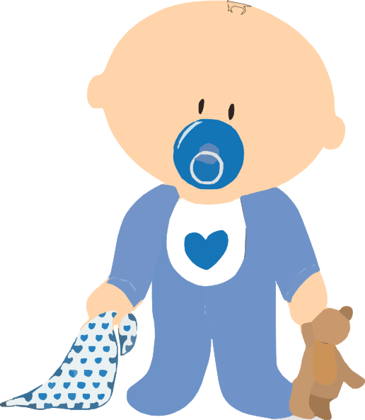 free baby shower clipart boy - photo #8