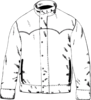 Jacket Outline Clip Art