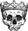 Royal Skull Clip Art