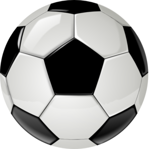 Real Soccer Ball By Ocal Without Shadow Clip Art