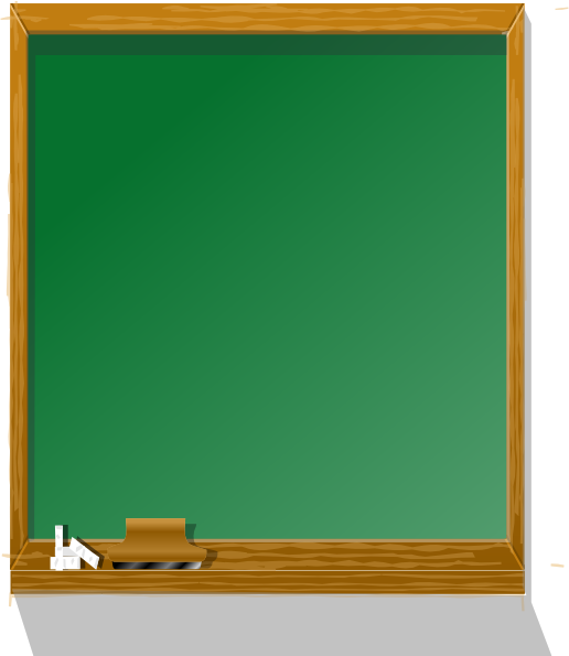 Chalkboard Tall Clip Art at Clker.com - vector clip art online ...