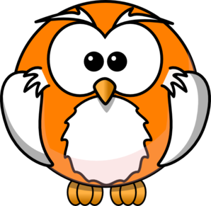 Owl Orange Clip Art