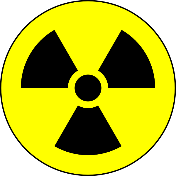 Radioactive Danger Symbol Clip Art at Clker.com - vector ...