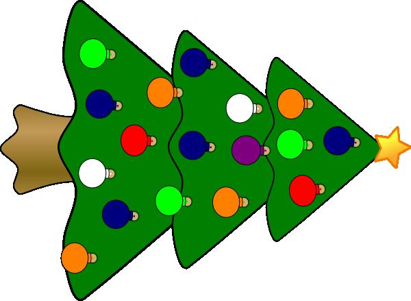 large christmas tree clip art free - photo #25