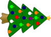 Christmas Tree 3 Clip Art