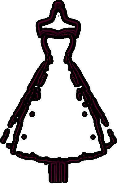 vintage dress clip art - photo #1