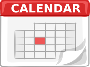 HCA Calendar of Events