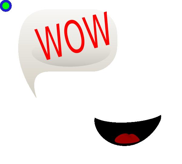 Wow Smiley clip artWow Face Clip Art