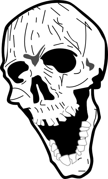 Skull Clip Art at Clker.com - vector clip art online, royalty free ...