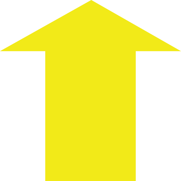 clipart yellow arrow - photo #24