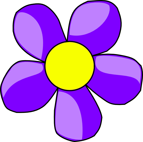 purple flower clip art at clker com vector clip art online rh clker com pink and purple flowers clipart purple flowers clipart free