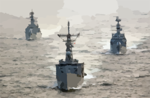Uss Rueben James Along With Pakistan Navy Ship (pns) Shahjahan And Pns Tippi Sultan Are Currently Participating In Exercise Inspired Siren 2002. 3 Clip Art