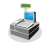 Cash Register Icon Clip Art
