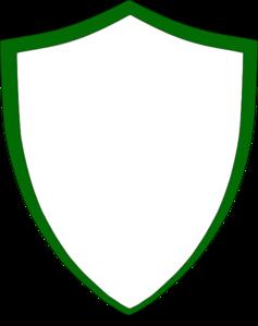 Green Crest Clip Art