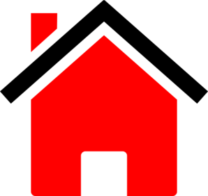 House Black Red Clip Art