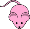 Pinkmouse Clip Art