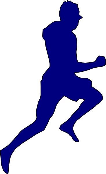 man jogging clipart - photo #46