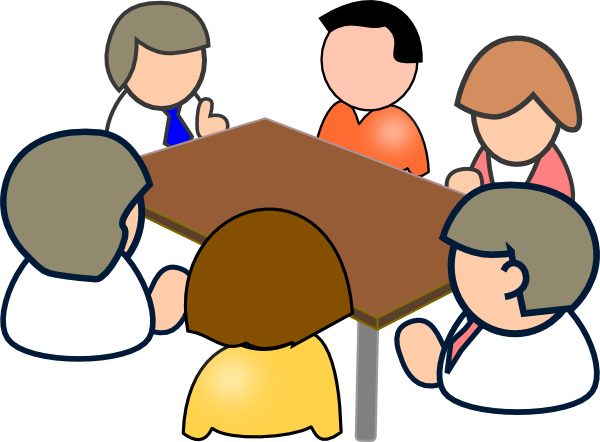 employee meeting clipart - photo #40