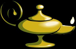 Magic Lamp - No Fire Clip Art