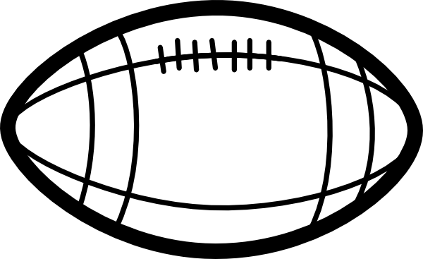 Coloring Book Football Clip Art at Clker.com - vector clip art ...