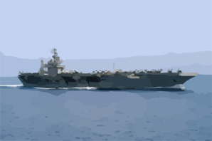Uss Theodore Roosevelt (cvn 71) Underway Conducting Combat Missions In Support Of Operation Iraqi Freedom Clip Art