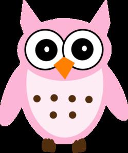 pink owl clip art at clker com vector clip art online royalty rh clker com pink and teal owl clip art pink and grey owl clip art