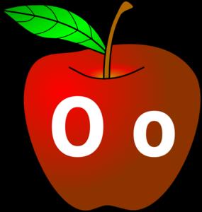 apple with o o clip art at clker com vector clip art online rh clker com clip art of apple and serpent clip art of apple pie
