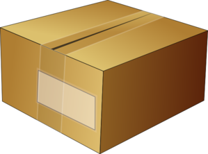 Box Crafted Closed Clip Art