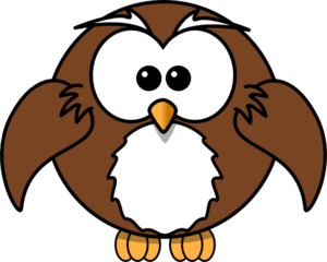 Owl Flying Clip Art