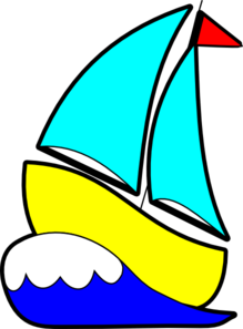 Bigger Sailboat Clip Art