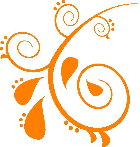 Orange swirl logo