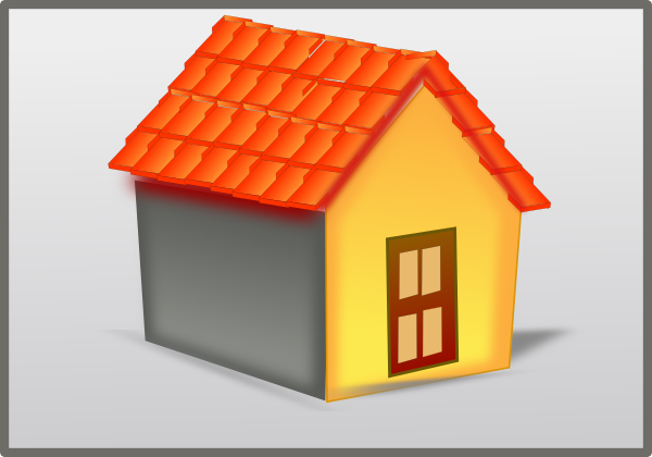 House Tiled Roof Clip Art at Clker.com - vector clip art online ...