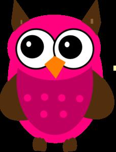 baby shower pink owl clip art at clker com vector clip art online rh clker com pink and grey owl clip art pink and blue owl clip art