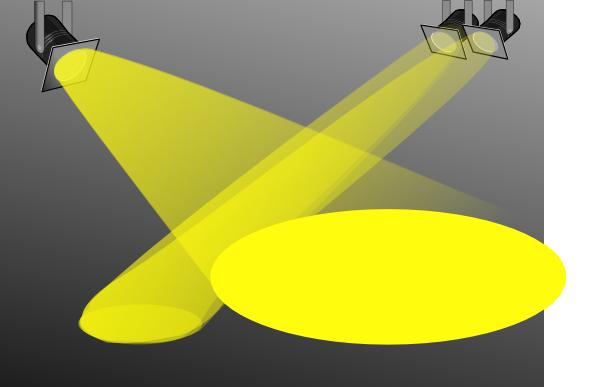 Spotlight, Searchlight Clip Art at Clker.com - vector clip ...