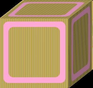 Block Plain Pink Clip Art at Clker.com - vector clip art online ...