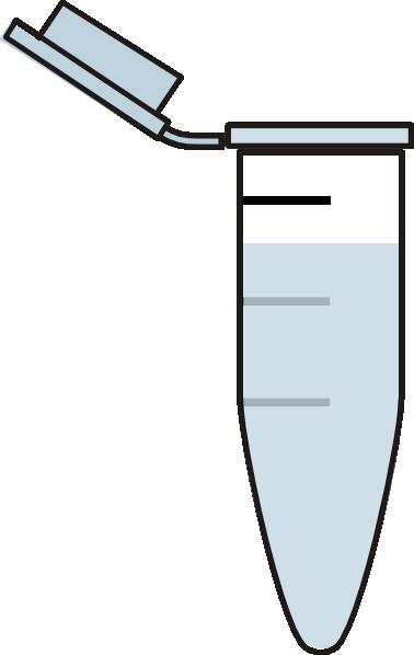 1ml eppendorf tube clip art at clkercom vector clip art