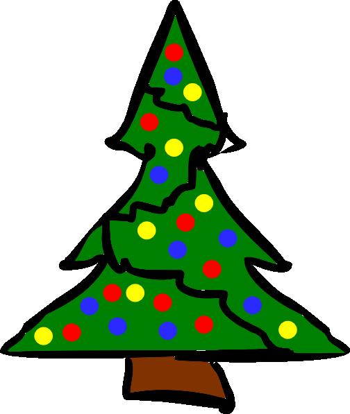 large christmas tree clip art free - photo #27