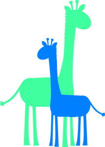 Birthday Boy Giraffes Clip Art At Clker Com Vector Clip