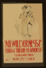 Ah, Wilderness!  Federal Theatre Playhouse, Tulane & Miro Streets Clip Art
