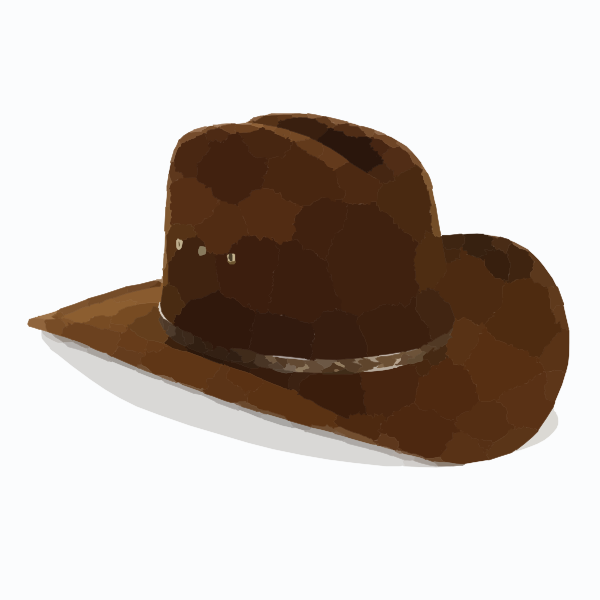 cowboy hat clipart free - photo #20