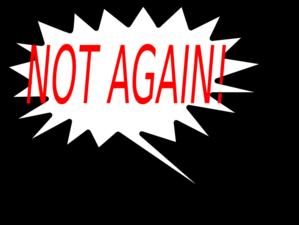 not again clip art at clker com vector clip art online royalty