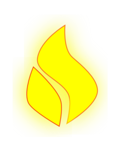 Flame Yellow Clip Art