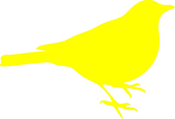 Yellow Bird Clip Art at Clker.com - vector clip art online ...
