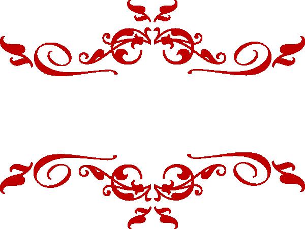 Swirl Red Clip Art At Clkercom Vector Online
