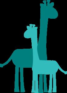 Baby Shower Giraffes Clip Art at Clkercom vector clip art online