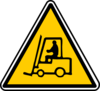 Warning - Crates Transportation Clip Art
