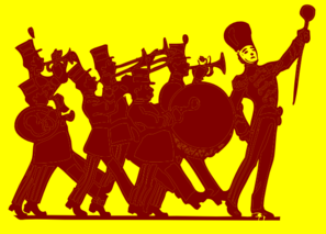 Marching Band Clip Art