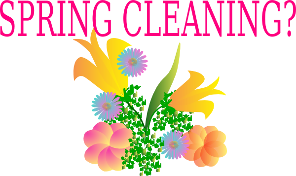 Clip Art Spring Cleaning Clipart spring cleaning clip art at clker com vector online download this image as